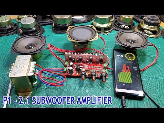 How To Make Subwoofer Speaker at home - P1 Assembling