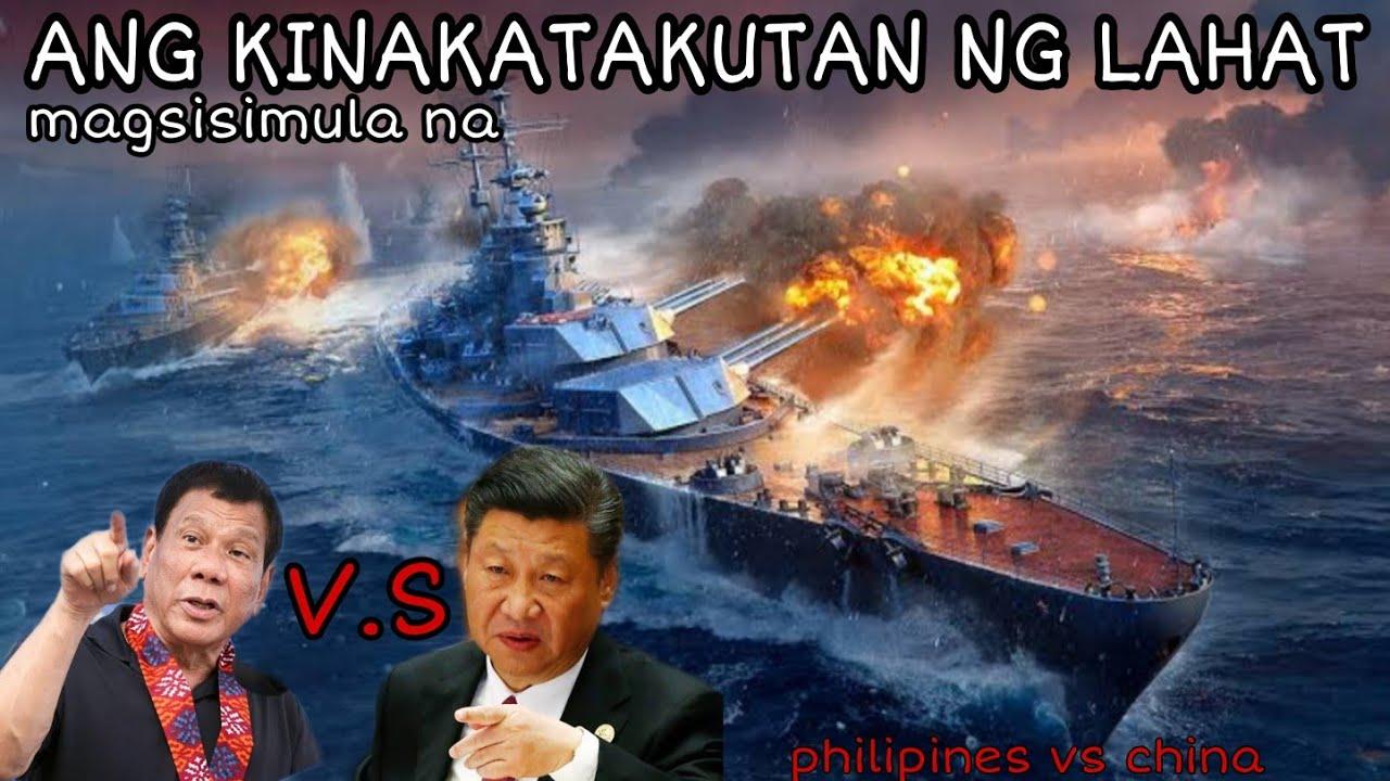 ANG GULO SA PAGITAN NG DALAWANG BANSA     -WEST PHILIPINES SEA / SOUTH CHINA SEA-