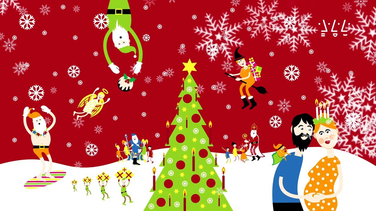 Frohe Weihnachten und ein gutes neues Jahr! - YouTube