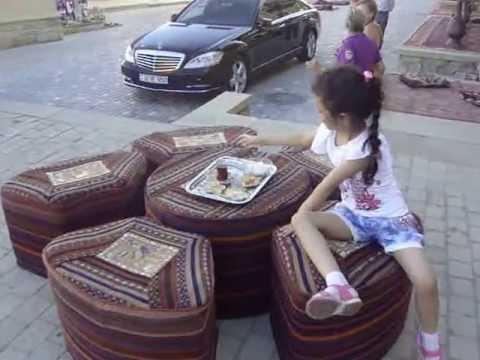 Azerbaijan Baku Qosha Qala Qapisi+Qiz Qalasi