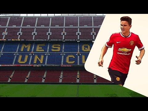 Manchester United midfielder Ander Herrera on Barcelona's radar