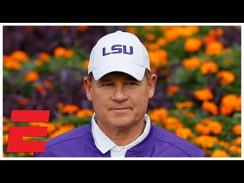 Les Miles: Why Alabama vs. LSU will be 'intimidating' for Crimson Tide | College Football