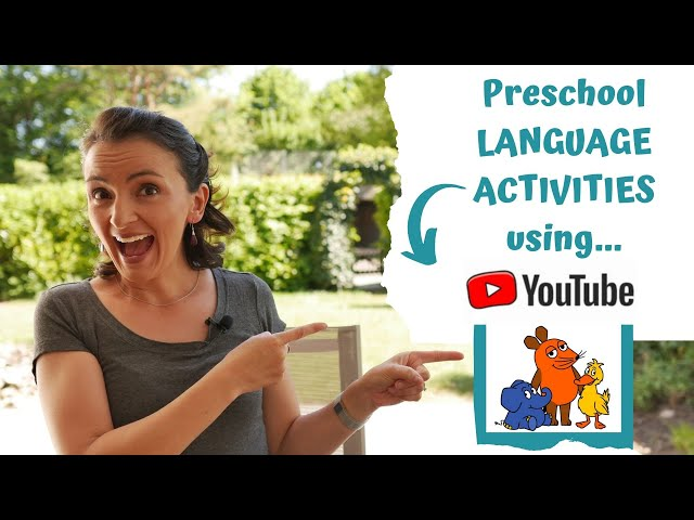Preschool Activity Tips - Learning Languages at Home Using YouTube