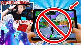 FORTNITE ACTUALLY GOT BANNED ON MOBILE... #FreeFortnite