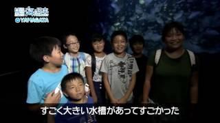 加茂水族館のほど近く湯野浜温泉の宿泊客を対象に、夜の水族館を温泉の...
