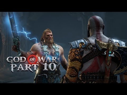 God of War - Part 10 - FIGHTING THOR'S SON (Let's Play / Walkthrough / PS4 Pro Gameplay)