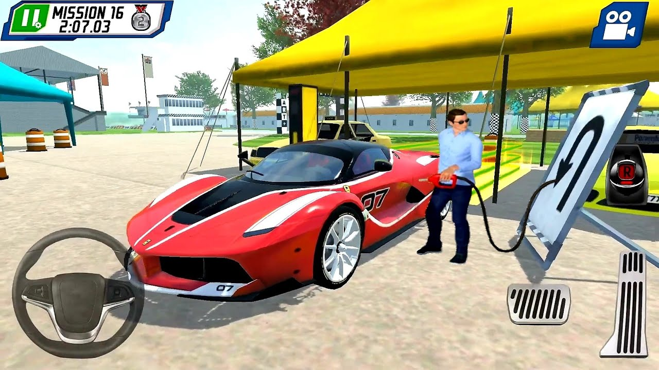 Parking Master Supercar Driver #3 Ferrai Car Driving! Car Games - Android & IOS Gameplay