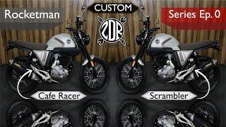 ✅👍Rocketman Custom Series Cafe Racer/Scrambler Intro