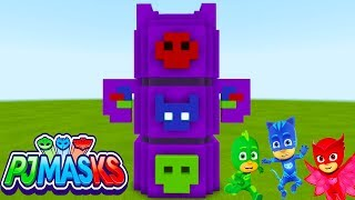 "Minecraft Tutorial: How To Make The PJ Masks Headquarters ""PJ Masks"" Mini HQ"
