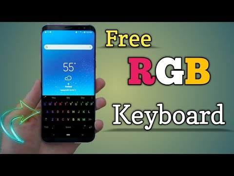 Free RGB Keyboard For Android | Chrooma Keyboard Pro Free In Hindi | By Technical Mashup