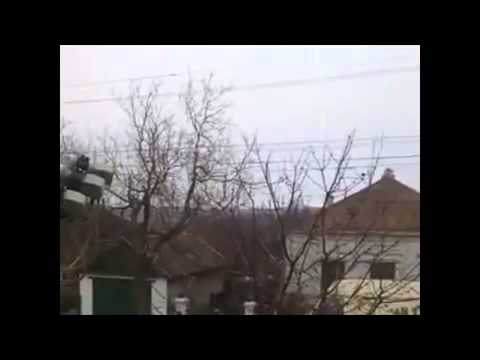 Grads covered Mariupol 25 01 2015 Ukraine War Today News