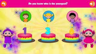 EduBirthday Preschool Game | Develops memory skills and learn numbers