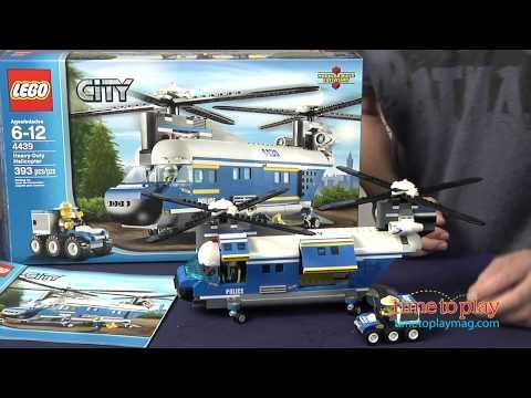 LEGO City Heavy-Duty Helicopter from LEGO - YouTube