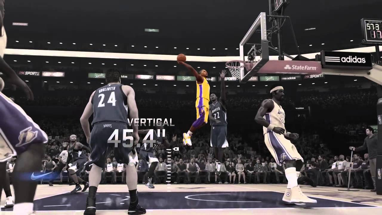 official photos d21f4 24f83 Nike  Kobe dunks with head above the rim