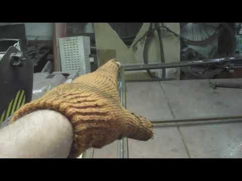 Ворота с калиткой внутри с елементами ковки делаю каркасы