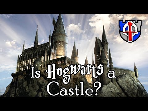 Is Hogwarts from Harry Potter really a CASTLE?