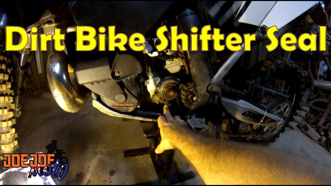 How To Dirt Bike Shifter Seal Replacement
