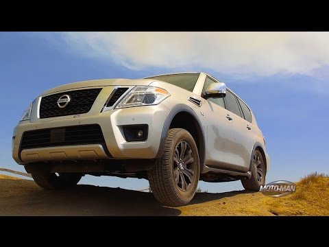 2017 Nissan Armada SUV: An American Nissan Patrol - OFF ROAD FIRST DRIVE REVIEW (3 of 5)