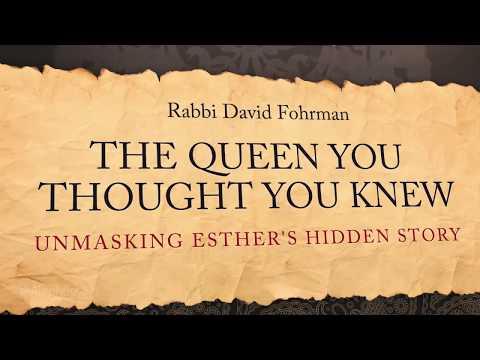 Purim: Unmasking Esther's Hidden Megillah Story