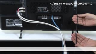ソニー 〈ブラビア〉W650A/W600Aシリーズ セットアップ動画 thumbnail