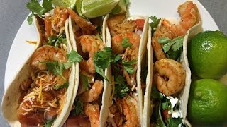 HOW TO MAKE SHRIMP TACOS!