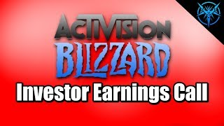 My Rant on the Activision Investor Call