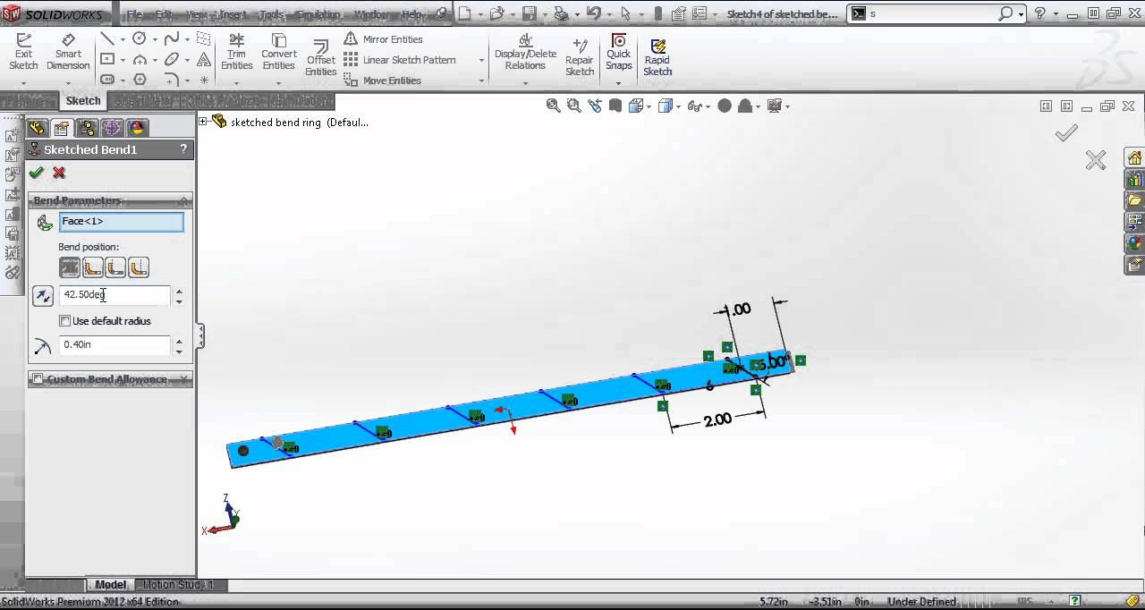 solidworks sketch must have disjoint lines