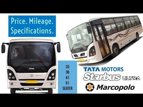 Tata Starbus Ultra Price Mileage Specifications 33 36 41 51