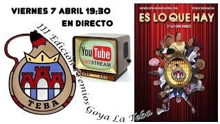 Entrega de premios Goya 2017 Peña La Teba Tudela