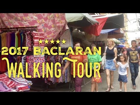 2017 Baclaran Street Market Walking Tour by HourPhilippines.com