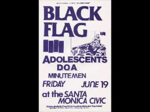 Black Flag - Live @ Santa Monica Civic Center, Santa Monica, CA, 6/19/81 [DEZ ON VOCALS]