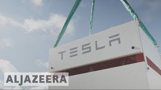 Tesla activates world's biggest battery