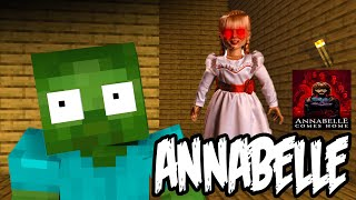 Monster School Anabelle Horror Game Challenge  Minecraft Animations