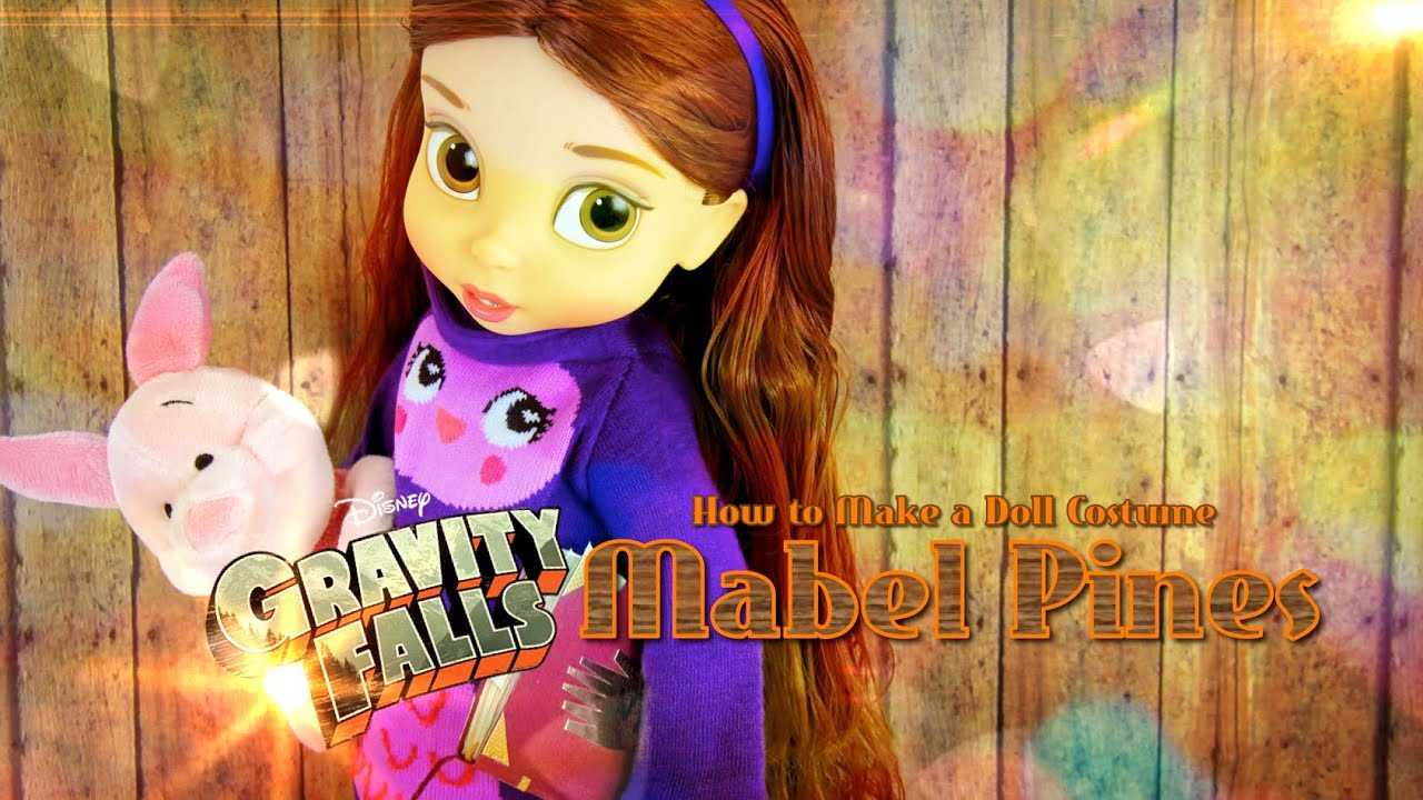 Gravity Falls Wallpaper Dipper How To Make A Doll Costume Gravity Falls Mabel Pines