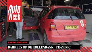 homepage tile video photo for Barrels op de Rollenbank - Team Nic