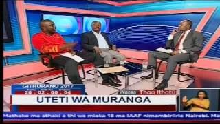 Inooro Thaa Ithatu: Uteti wa Murang'a, Kembi Gitura na Irungu Kang'ata