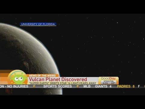 News of the Weird: Vulcan Planet Star Trek