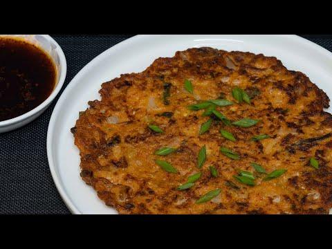 pancakes-au-kimchi-(recette-coréenne)---facile-et-rapide