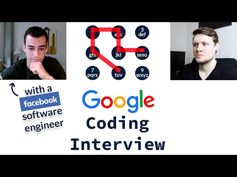 Google Coding Interview With A Facebook Software Engineer