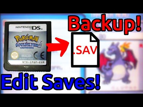 Backup DS Save files using a 3ds! (No Flash cart needed!) Copy/Edit