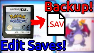 Backup DS Save files using a 3ds No Flash cart needed Copy Edit Convert
