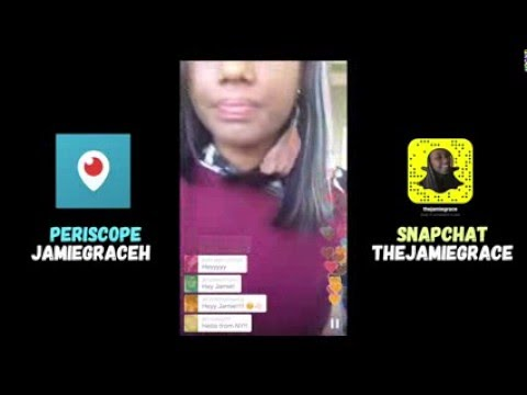 Jamie Grace on Periscope [Hillsong, Tamela Mann & More - Feb 18] thumbnail