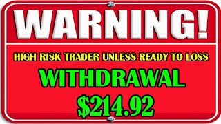 WARNING !!! DON'T COPY HIGH RISK TRADER UNLESS READY TO LOSS