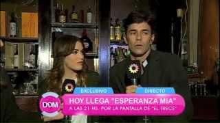 MARIANO MARTINEZ y Lali Esposito en