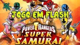 Jogos em Flash 011 - Power Rangers Super Samurai - Ótimos graficos!