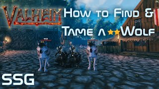 Valheim How to Fİnd a Two Star Wolf to Tame