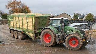 Unterwegs mit dem Lohnunternehmen Fonk-Agrar [Fendt Traktoren]