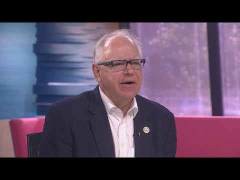 Rep. Tim Walz On Gun Control, Running Mate Rep. Peggy Flanagan & Health Care