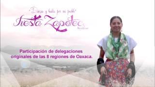 Comercial: Fiesta Zapoteca 2014 en la Villa de San Pablo Huixtepec