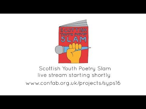 Scottish Youth Poetry Slam live stream